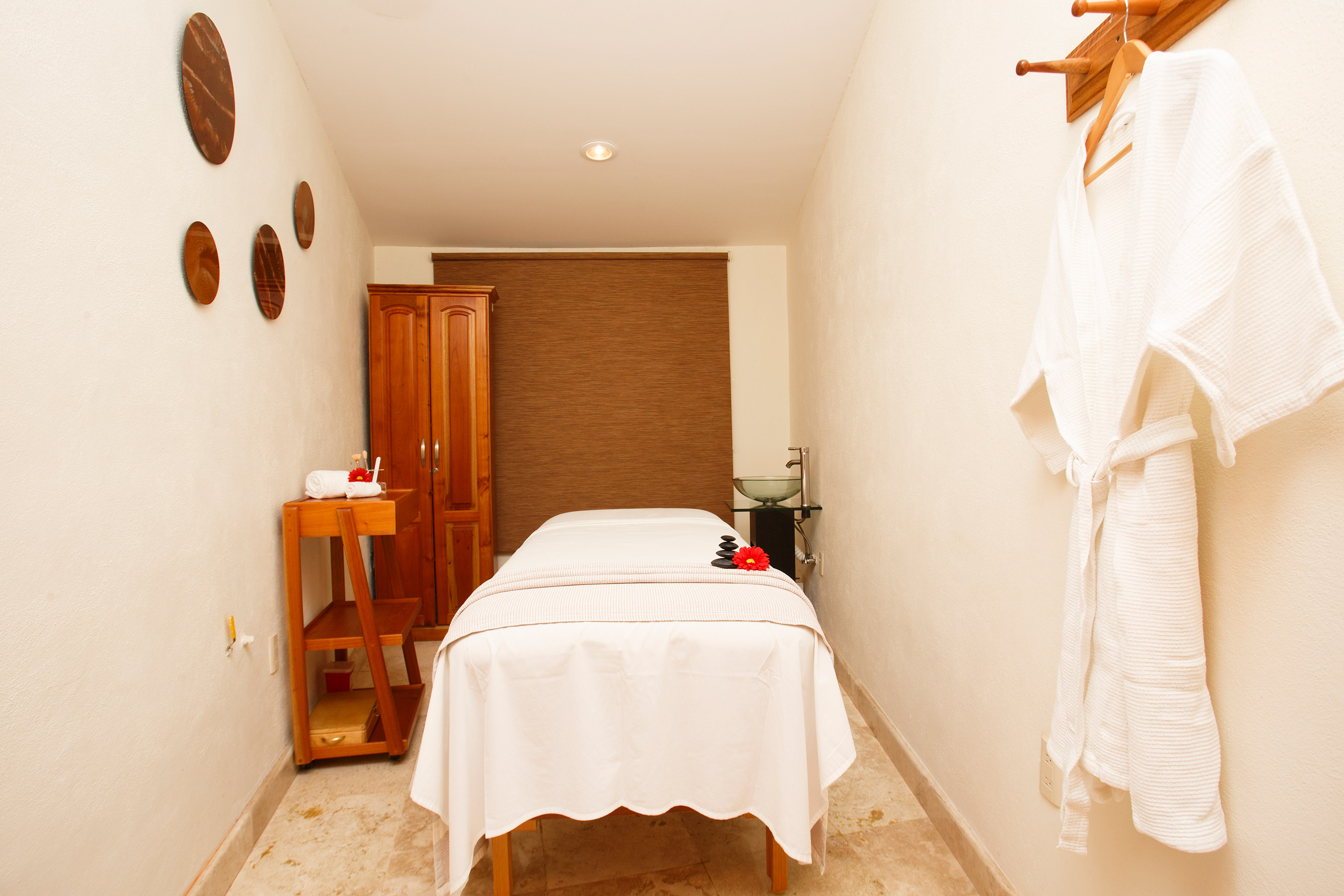 Cabina de masaje Quinta Sauz